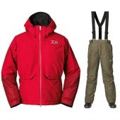 Daiwa Gore-Tex Winter Suit Red DW-1203